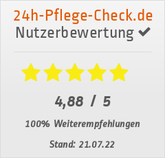 Bewertungen von SENIOR FAMILY PLUS bei 24h-pflege-check.de