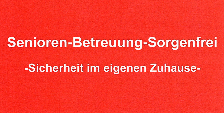Logo Senioren-Betreuung-Sorgenfrei Bayrisch Schwaben / Schwaben