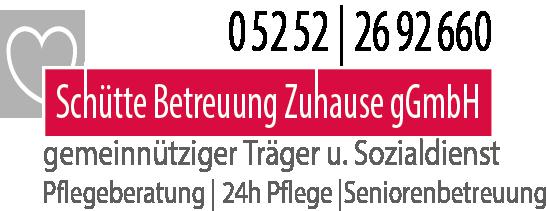 Logo Schütte Betreuung Zuhause gGmbH