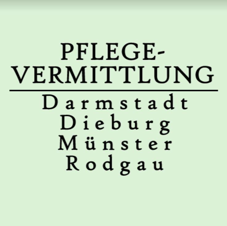 Logo Pflegevermittlung Darmstadt-Dieburg-Münster-Rodgau GbR
