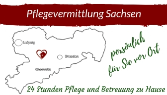 Logo Pflegevermittlung Sachsen