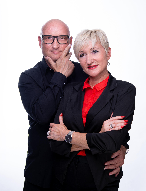 Dieter Meier und Bianca Klausfelder, Inhaber