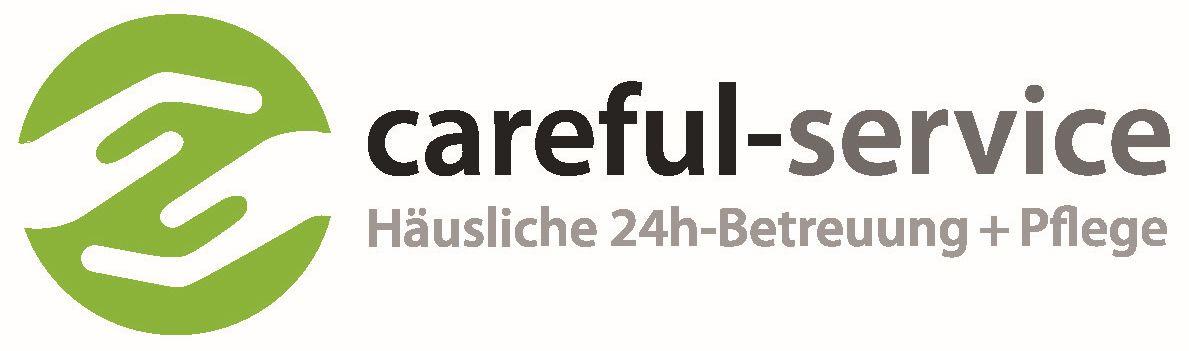 Logo careful-service GmbH - amb. Pflegedienst gem. SGB XI