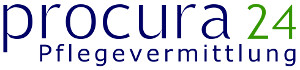 Logo PROCURA-24 PFLEGEVERMITTLUNG