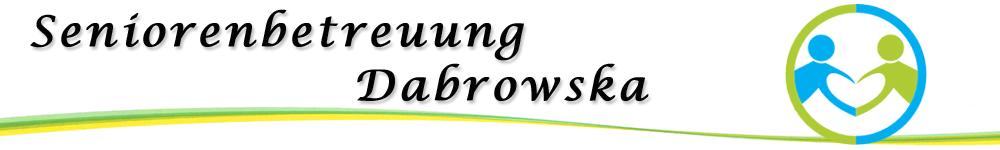 Logo Seniorenbetreuung Dabrowska