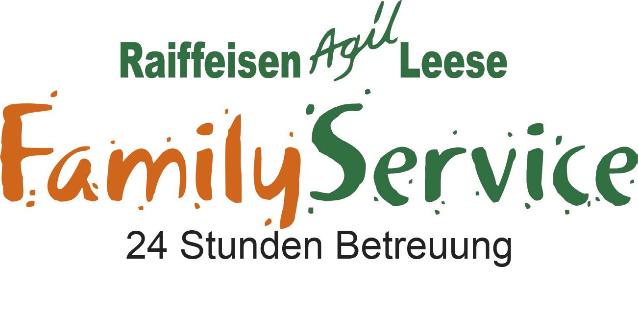 Logo Raiffeisen Agil Leese /Family Service