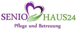 Logo SenioHaus24 Pflegevermittlung
