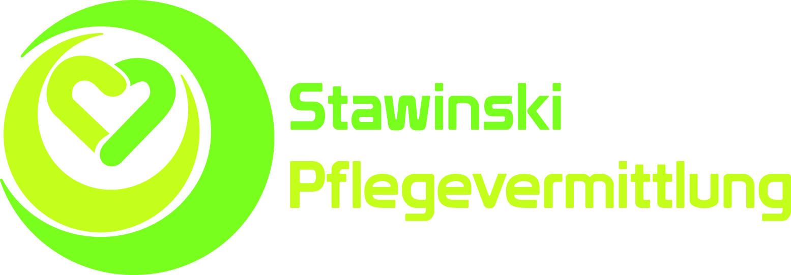 Logo Stawinski-Pflegevermittlung
