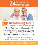 Logo Betreuungswelt Hüther